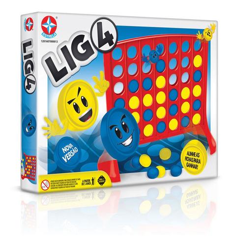Imagem 1 de 2 de Jogo Lig 4 - Estrela