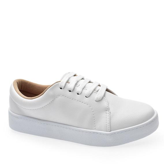 Tênis Feminino Branco Bebecê Confortável 2113-301 Envio 24h