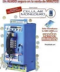 Telefonos Monederos Gsm   Celular  Venta De Minuto Simcard