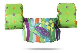 Colete Salva Vidas Ativa Kids Classe V Tartaruga*