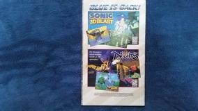 [ Sega Saturn ] Manual Do Jogo Dark Savior Original