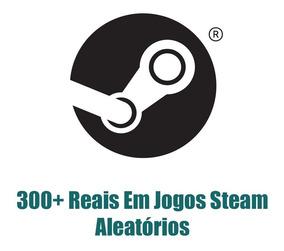 300 Reais Em Jogos Premium Da Steam - Keys Aleatórias