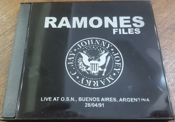 Ramones Live At Obras Sanitarias 28/04/91 Cdr. Bad Religion