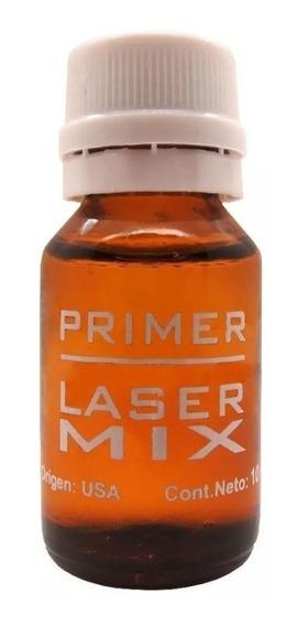 Primer Laser Mix 10 Ml Para Uñas Esculpidas Gel Y Acrilico