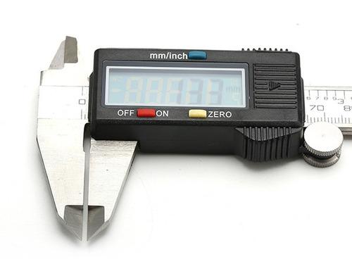 herramienta de medici/ón de profundidad calibre Vernier calibrador de precisi/ón Vernier Calibre de acero inoxidable Calibre Vernier de 0 a 150 mm de profundidad