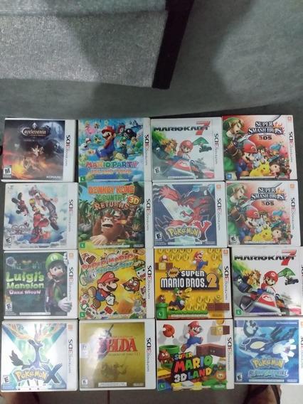 Jogos 3ds Donkey Kong, Zelda, Super Smash Bros, Mario Kart 7