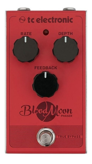 Pedal Phaser Para Guitarra Tc Electronic Blood Moon
