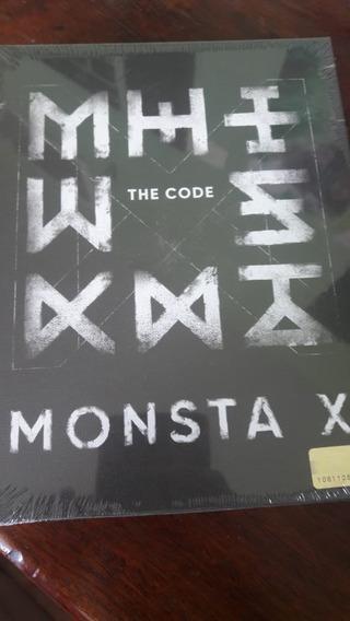 Allbum Monsta X - The Code, Versão Protocol Terminal Lacrado