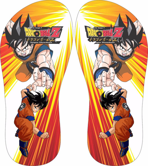 Chinelo Dragon Ball Z - Goku