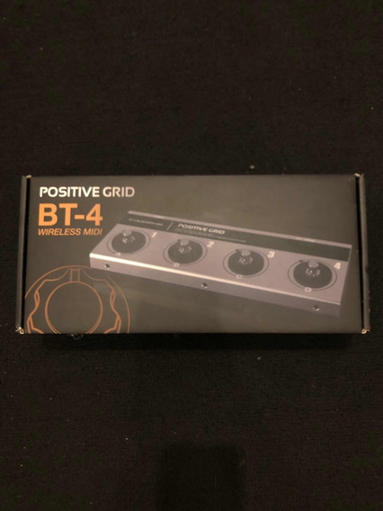 Positive Grid Bt-4 (wireless Midi) Baixei P Vender