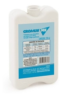 Gelo Em Gel Reutilizável P/bolsa Termica/ Cx Isopor 200ml 6h