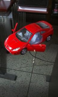 Carro De Juguete Toyota Célica Rojo, Escla 1/34, Kinsmart.