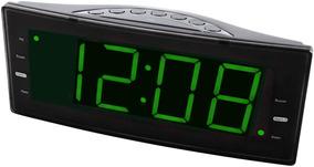 Rádio-relógio Digital Fm C/ 2 Alarmes Saida Usb Para Carga