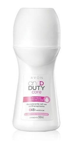 Desodorante Avon On Duty Care Roll On 48 H Suavidad