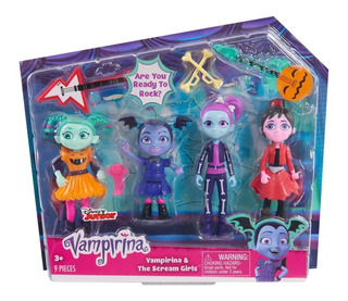 Vampirina Y Scream Girls Set 9 Piezas Disney Juniors. Replay