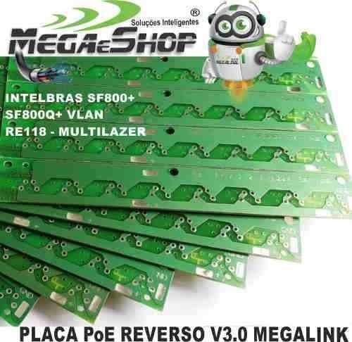 500 Placa Poe V3.0 P/ Switch Intelbras Sf-800q+ Vlan E Re118
