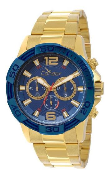 Relógio Condor Masculino Bicolor - Covd54aa/4a