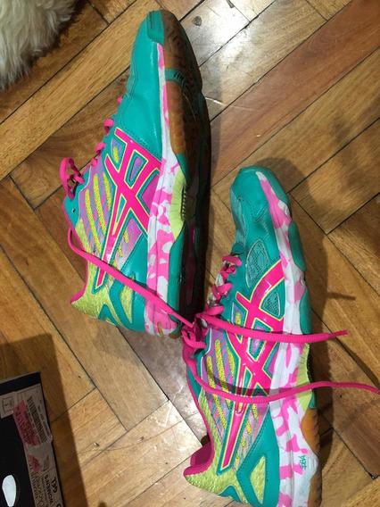 Zapatillas Asics Para Voley, Handball O Tenis