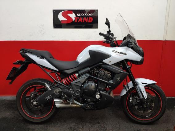 Kawasaki Versys 650 Abs 2013 Branca Branco