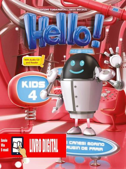 Hello! Kids - Livro 4º Ano