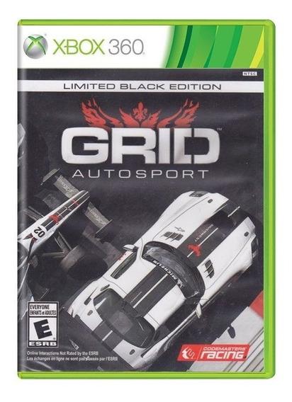 Grid Auto Sport Black Edition Xbox 360 Fisica Lacrado Nfe