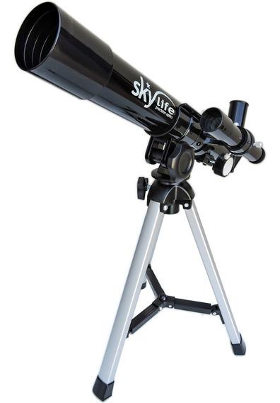 Telescópio Astronômico Novice 32x + Tripe Mesa - Skylife Marca Especialista Em Produtos Astronômicos