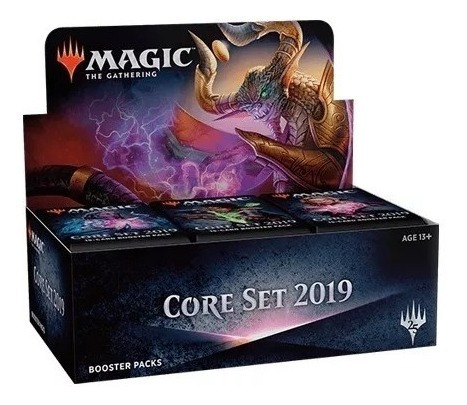 Booster Box Core 2019 Pt (lacrado) Com Buy A Box