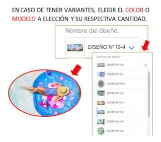 Toallones Lona Playeros Redondo Microfibra Secado Rapido