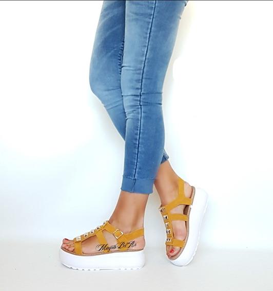 Zapatos Sandalias Plataforma Y Taco Verano Mugato-bsas Art 4