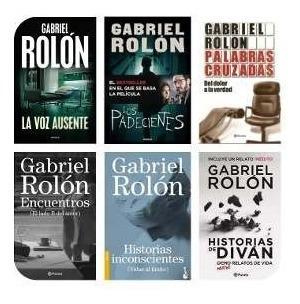 Colección 5 Libros De Gabriel Rolon - Digital Voz Ausente