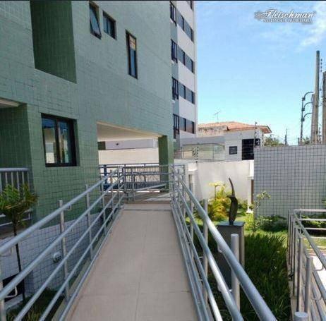 Apartamento Com 2 Dormitórios À Venda, 59 M² Por R$ 275.000,00 - Campo Grande - Recife/pe - Ap1685