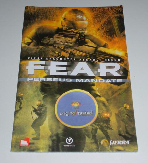 Fear Perseus Mandate ¦ Manual Físico Original Usado