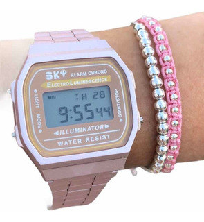 Reloj Digital Feraud Sk81 Retro Vintage Cuotas!!casio Tagger