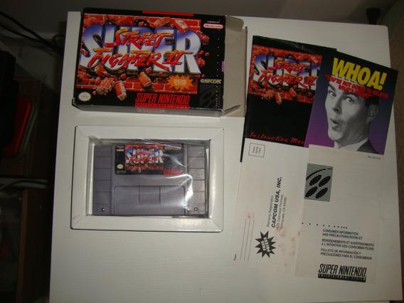 Super Street Fighter Ii Americano Completo P/ Super Nintendo