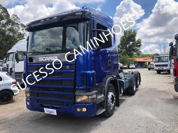 Scania R 124 420 6x2 2000