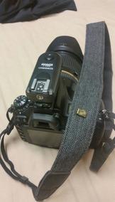 Alça Câmera Canon Nikon Profissional Vintage Couro Dslr