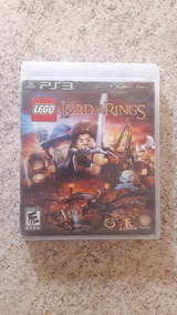 Jogo Lego Lord Of Ring Ps3 Midia Fisica