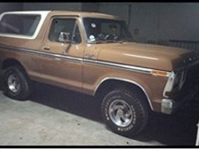Ford Bronco 1979 Vendo