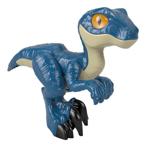 Imagen 1 de 5 de Imaginext Jurassic World, Figura Xl Dino Raptor
