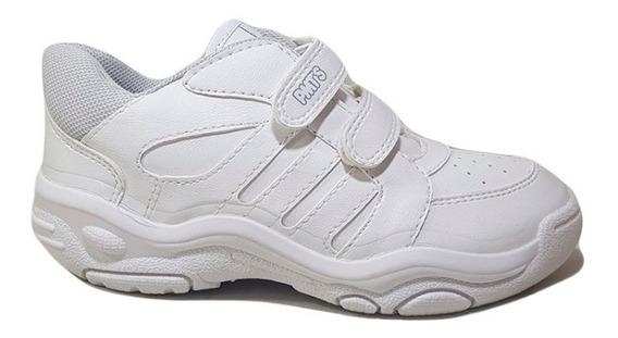Zapatillas Plumitas C/abrojo Colegial Escolar N°27/35