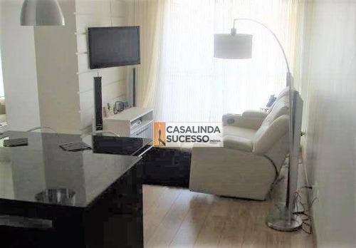 Imagem 1 de 11 de Apartamento Com 2 Dormitórios À Venda, 45 M² Por R$ 360.000 - Mooca - São Paulo/sp - Ap4821