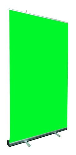 Fondo Infinito Verde - Tela Croma Armado Rapido 2 X 1,50