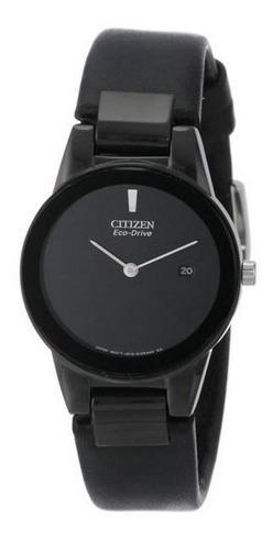 Relógio Citiz Masculino Preto Original 1 Ano De Garantia