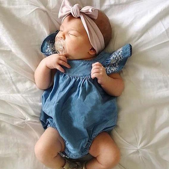 Promoção - Body Jeans Para Bebê