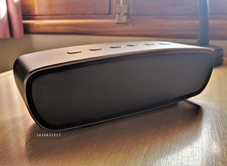 Parlante Bluetooth Stereo Jam Heavy Metal 20w