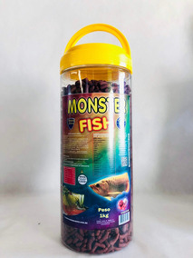Ração Maramar Monster Fish 1kg - Com Sticks De 20mm