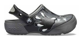 Zapato Crocs Niño Pantera Negra