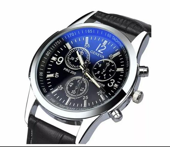 Relógio Masculino Geneva Importado Novo.