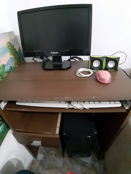 Computador Intel Celeron J3060 - Ac. Caixas, Mesa E Cadeira