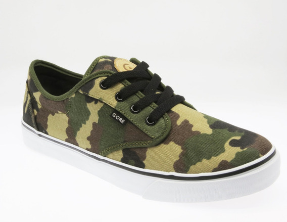 Tenis Core Canvas Camo